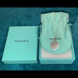 Tiffany & Co. Jewelry - ❤️U Notes Pendant and Return to Tiffany necklaces.